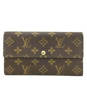 Auth Louis Vuitton Portefeiulle Sarah #1456C10